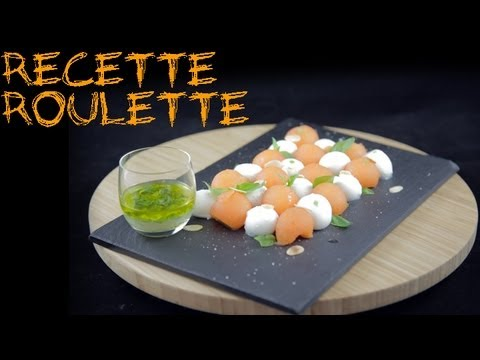 Recette Melon Mozzarella Youtube