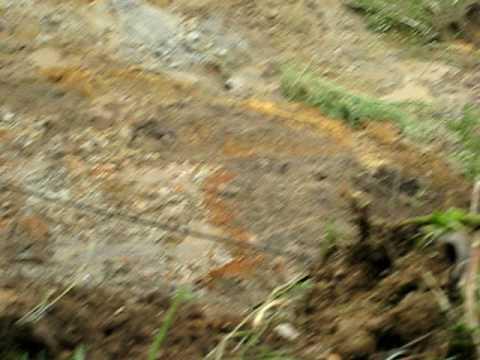 Landslide on Cerro del Oro, Manizales, 16 Nov '08