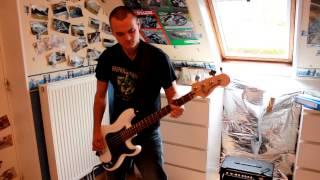 Dropkick Murphys - Barroom Hero bass cover