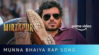 Munna Bhaiya Rap Song | Mirzapur 2 | Divyenndu | Anand Bhaskar | Amazon Original | Oct 23