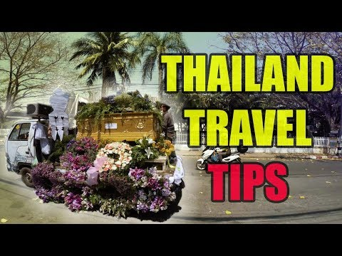 TRAVEL TIPS FOR THAILAND 2018