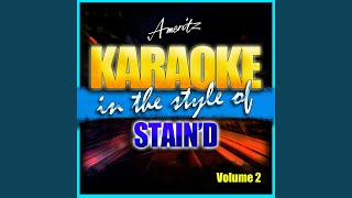 Zoe Jane (In the Style of Staind) (Karaoke Version)