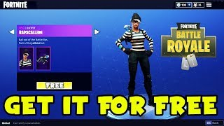 HOW TO GET RAPSCALLION AND SCOUNDREL SKIN FOR FREE In Fortnite! | (Battle Royale NEW SKIN Giveaway)