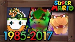 Evolution of Bowser Battles in Super Mario Games [1985–2017]