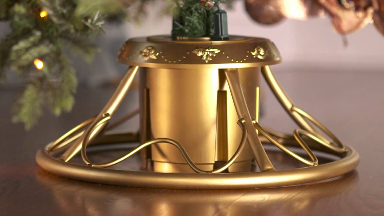 Christmas Tree Stand Rotating – Merry Christmas And Happy New Year ...