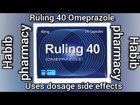 Ruling 40 capsule uses /Ruling omeperazole uses in urdu