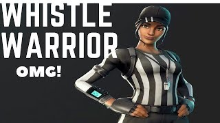 Fortnite Battle Royale (NEW WHISTLE WARRIOR SKIN GAMEPLAY)