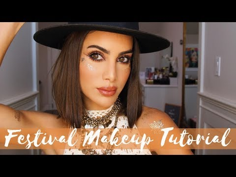 MUSIC FESTIVAL MAKEUP! thumbnail