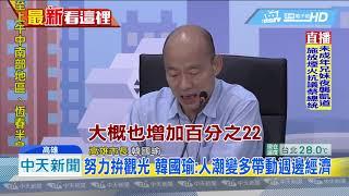 20190629中天新聞 上任近半年 韓國瑜14項施政亮點報告