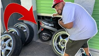 MOTORCYCLE HIDING BEHIND RECYCLABLES! | made big buck$$ on a storage unit