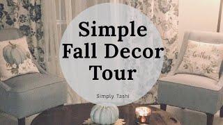 🍁 FALL HOME TOUR 2019!🍂 SIMPLE FALL DECOR