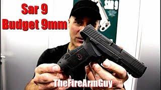 Sar 9 - Glock & HK Had a Baby Budget 9mm Handgun - TheFireArmGuy