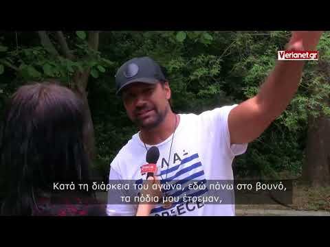 2018 04 29 Βεργίνα - Manu Bennett - Από το Σπάρτακο στις Αιγές - συνέντευξη