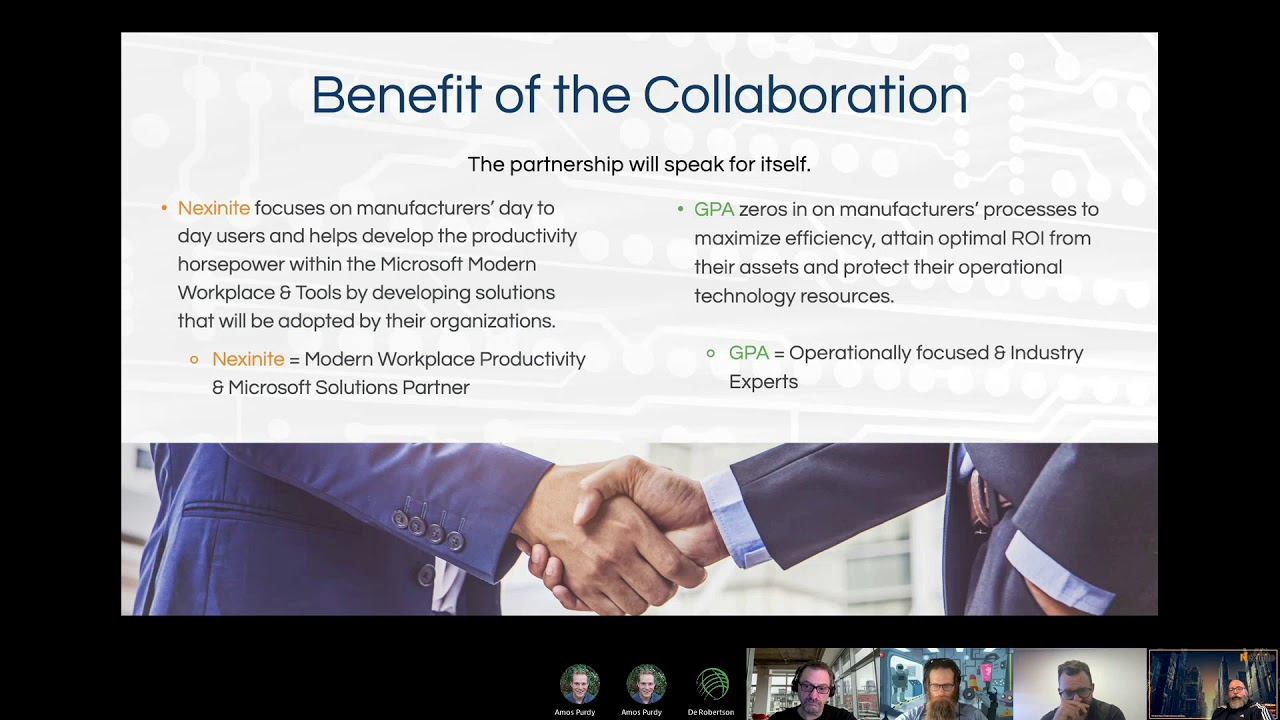 Episode 5: Benefit of the Collaboration