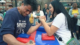 Arm Wrestling at Union Square NYC 2019