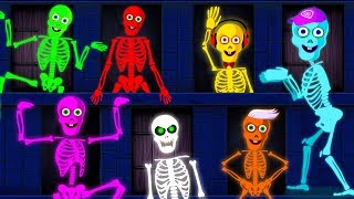 Midnight Magic Puzzle Doors For Skeletons Dancing Finger Family Funny Baby Songs by Teeh ...