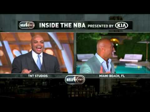 Inside The NBA  The Rock Delivers Some Words to Shaq   December 11, 2014