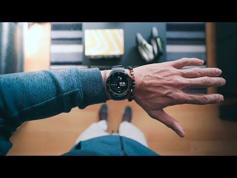 THE BEST SMARTWATCH OF 2017 - Get's you IN SHAPE and is AFFORDABLE!