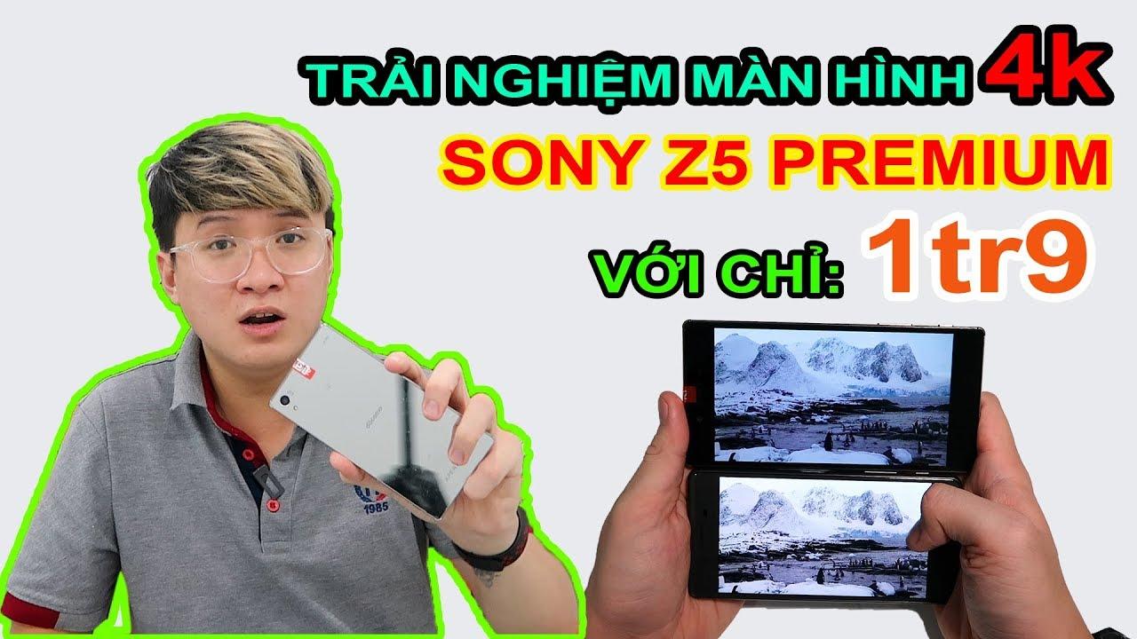 Mở hộp SONY Z5 PREMIUM giá 1tr9 trên LAZADA, SHOPEE. Màn hình 4K, Snapdragon 810 | MUA HÀNG ONLINE