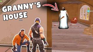 *NEW GAMEMODE* GRANNY HORROR Custom Gamemode in Fortnite BR! (ESCAPING GRANNY'S HOUSE!)