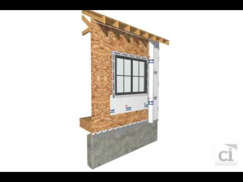 tyvek house wrap window install before dupont tyvek 174 weather barrier 28598