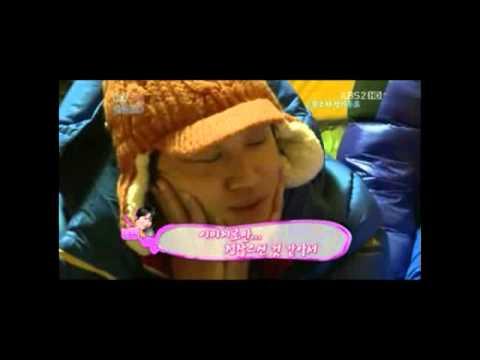 "[2012.03.25] ""2 days 1 night"" - Kim So Yeon phone contact"