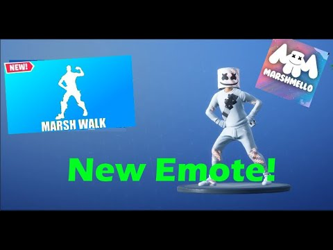 marsh walk dance emote 1 hour - fortnite marshmello dance 10 hours