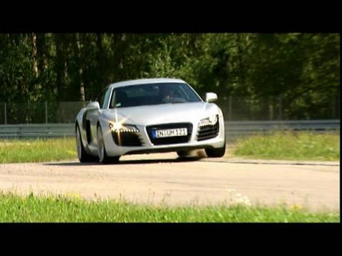 Tracktest Audi R8 R8 - Audis erster richtiger Sportwagen mus