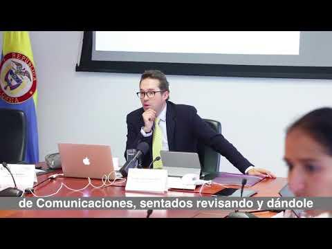 Ministro Rozo presentó el punto de partida de agenda intersectorial.  C20-N8
