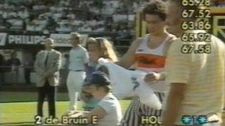 erik de bruin discus 67 58 metres in 1989 pb 68 12 meters 1991 04 01 sneek