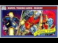 Marvel Trading Card Analysis - Rookies
