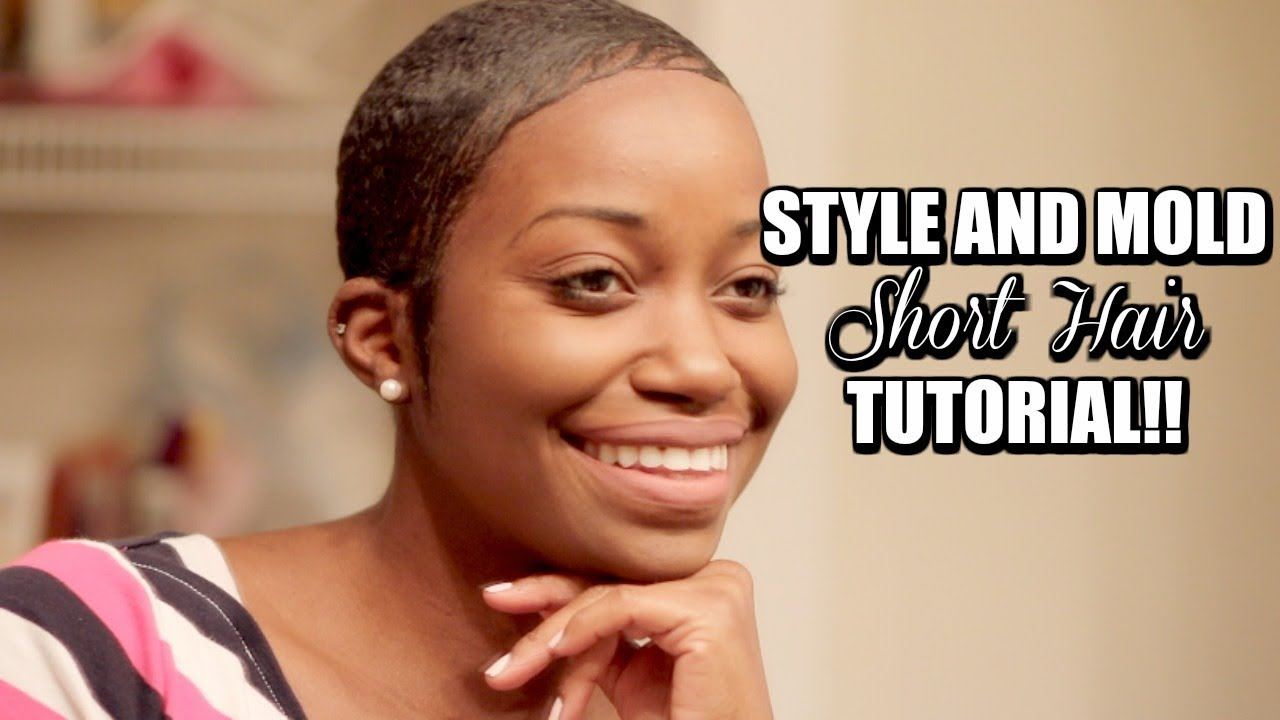 HOW TO STYLE AND MOLD SHORT PIXIE CUT | My Everyday Short Hair Tutorial