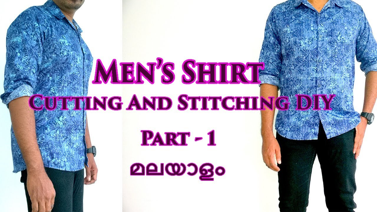 Mens slim fit full sleeve shirt cutting and stitching malayalam diy mens slim fit full sleeve shirt cutting and stitching malayalam diy part 1 solutioingenieria Choice Image
