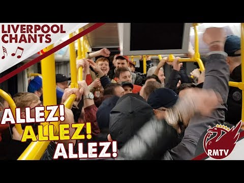 'We Conquered All of Europe! Allez Allez Allez!' Learn LFC Chants