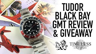 """Tudor Black Bay GMT """"Pepsi"""" Giveaway & Full Review - Better Than The Rolex?"""