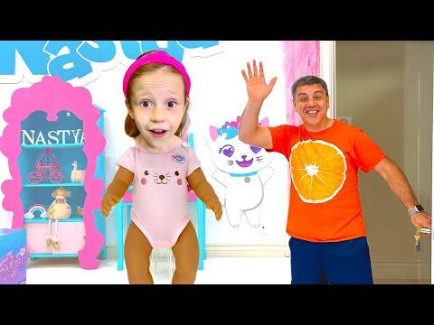 Nastya và Maggie và câu chuyện về chiếc đũa thần cho trẻ em