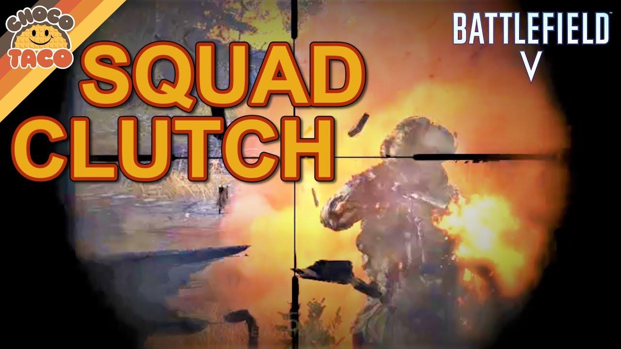 32 36 MB] chocoTaco Firestorm Squad Clutch - Battlefield V Firestorm
