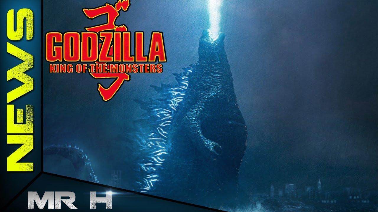 Godzilla's New Design For Godzilla King Of The Monsters