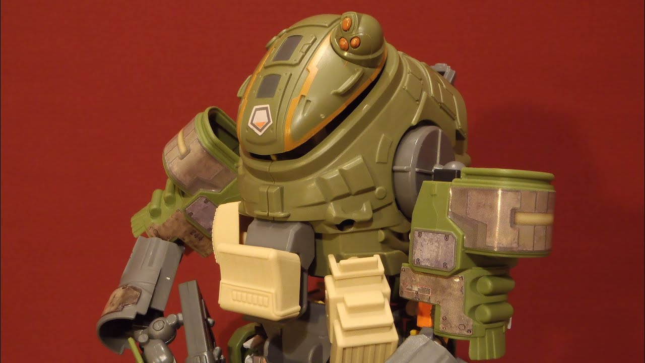 knex titanfall militia ogre titan building set james