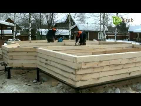 Строительство деревянных домов из костромского леса