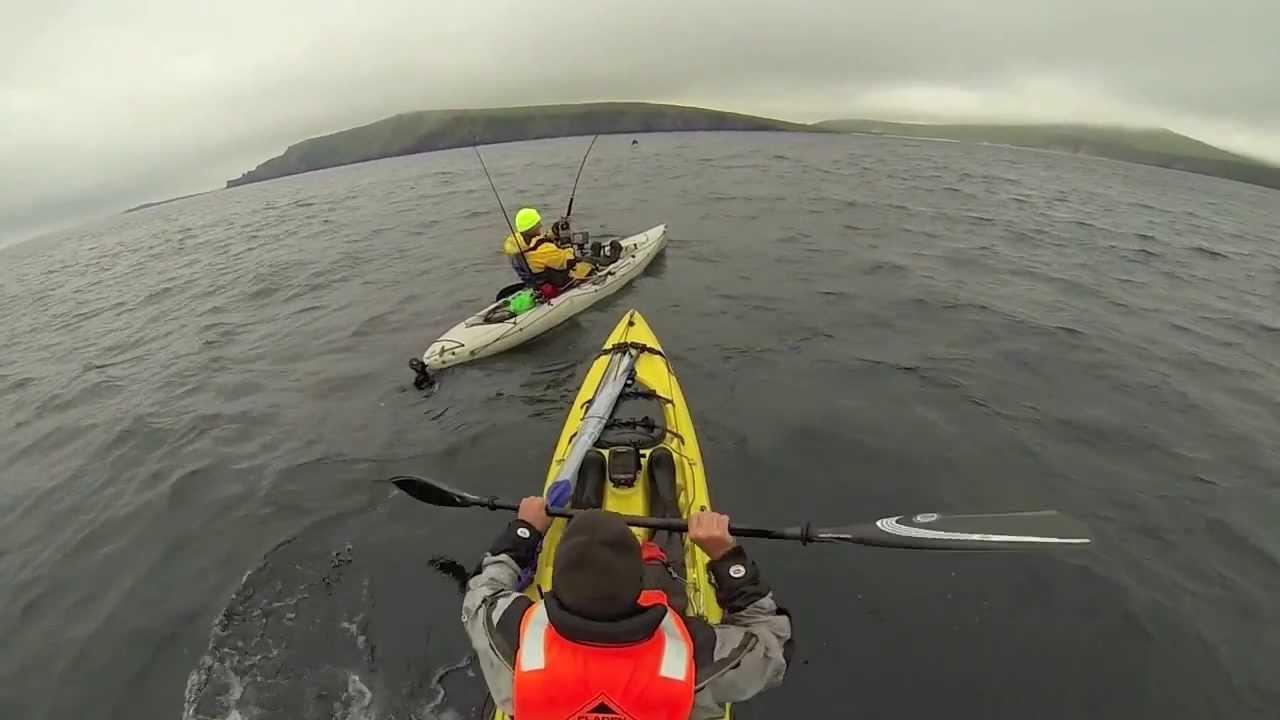 Shetland isle 39 s kayak fishing doovi for Fissot fishing kayak