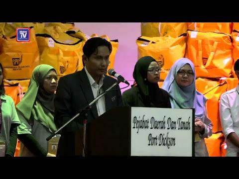 LIVE Pengumuman keputusan PRK Port Dickson oleh Pegawai Pengurus Pilihan Raya, Khairy Maamor