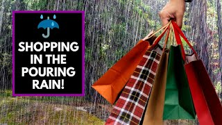 Shopping In The Rain? | How To Shop on a Budget!