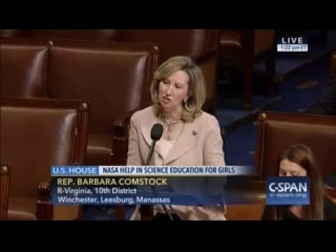 Rep. Comstock Speaks in Support of H.R. 4755, the INSPIRE Women Act