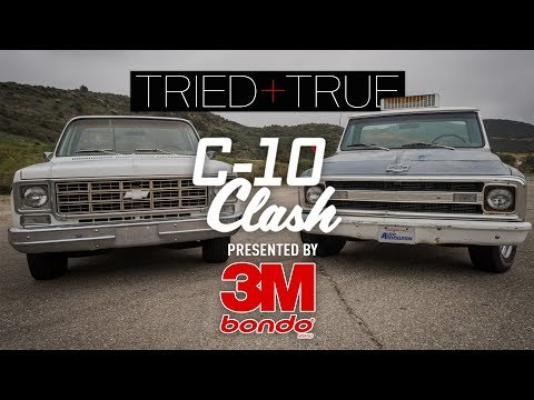 C-10 Clash Part 3 - Lowered Suspension