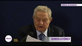 Új, világméretű hálózat kiépítését jelentette be Soros György