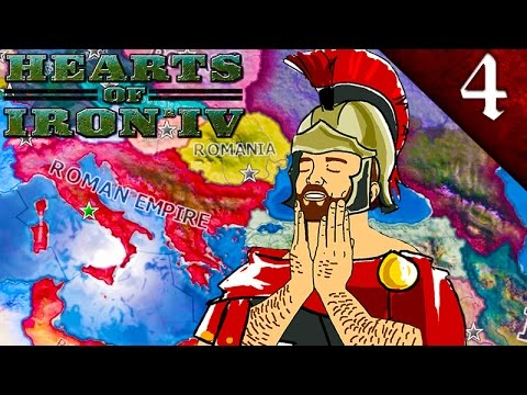 ROMANS CONQUERED THE UNITED KINGDOM! HEARTS OF IRON 4: THE ROMAN EMPIRE MOD EP. 4