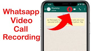 How to Record whatsapp video call without any app | whatsapp vc recording | Whatsapp tips & Tricks screenshot 1