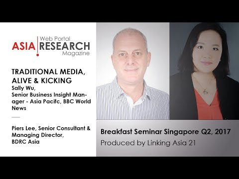 Traditional media, alive & kicking - BBC World News/BDRC Asia