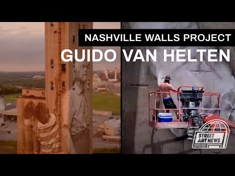 Guido van Helten for the Nashville Walls Project